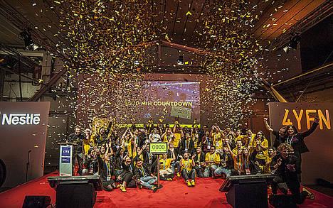 La hackatrain Imagine Express cierra su 4ª edición con la presentación de las apps ganadoras en el 4YFN