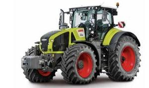 Tractor CLAAS AXION 960 CEMOS equipado con el motor Cursor 9 de FPT Industrial.