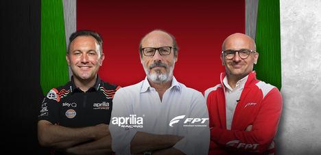 Guido Meda entrevista a FPT Industrial y Aprilia Racing Engine expertos para la nueva plataforma FPT Webcast