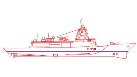 GMV adjudicataria del sistema de navegación de las Fragatas F-110 de la Armada