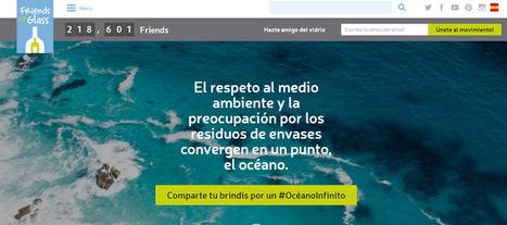 Maxi Iglesias, María Pombo, Aritz Aranburu y Melissa Jiménez se unen a la iniciativa de Friends of Glass para proteger los océanos