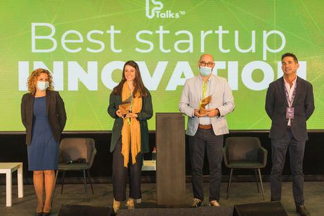 Ftalks'20 premia a las dos mejores startups de alimentación: Agrosingularity y Plant on Demand