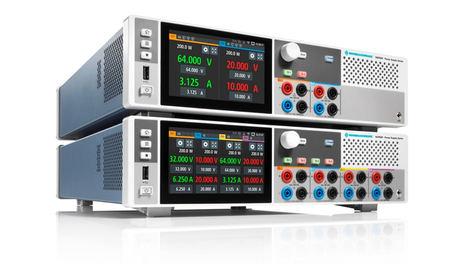 Nuevas fuentes de alimentación R&S NGP800: máxima eficiencia con hasta cuatro canales independientes en un solo instrumento compacto