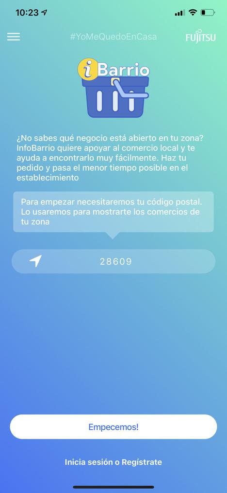 """Voluntarios de Fujitsu desarrollan """"iBarrio"""", una app que conecta a los vecinos con más de 350.000 tiendas locales de productos y servicios"""
