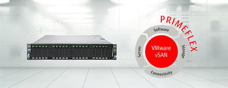 Fujitsu presenta PRIMEFLEX para VMwarevSAN, un nuevo sistema integrado llave en mano para HCI