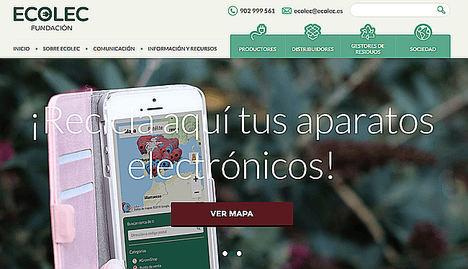 ECOLEC vuelve a superar los 100 millones de kilogramos anuales de RAEE correctamente gestionados
