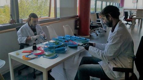 La Fundación Endesa entrega a IFEMA 2.000 viseras protectoras hechas con impresoras 3D