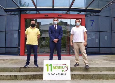 CodeContract, Grabit y V-Vision, startups ganadoras de la 11ª convocatoria de BerriUp