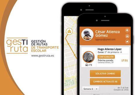 Auren desarrolla gesTIruta, una 'app' para la gestión de rutas escolares