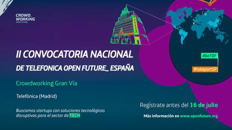 La II convocatoria nacional de Telefónica Open Future_ España en el 2018 busca startups para Cataluña, Madrid y Castilla – León