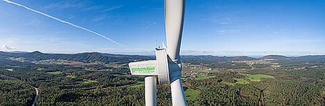 Greenalia pone en marcha el primero de sus parques eólicos