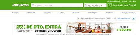 Groupon celebra su octavo aniversario en España y se consolida como el operador líder de venta de cupones en nuestro país