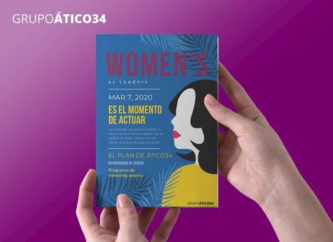 Grupo Ático34 se posiciona como referente para implantar el Plan de Igualdad en las empresas