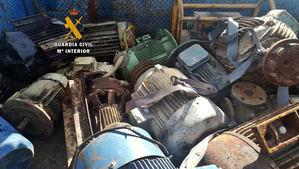 Detenidos por un robo valorado en 300.000€ en un local de Sacyr en Extremadura