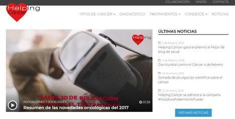 La Asociación Helping Cáncer gana el premio al Mejor Blog de Salud