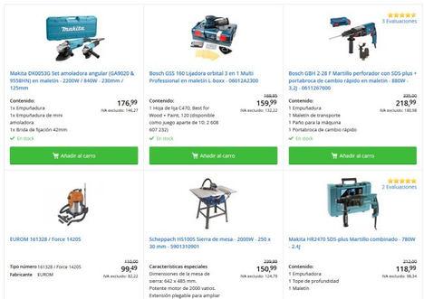 Las mejores herramientas profesionales y para el bricolaje que podemos encontrar en la web