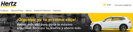 Hertz abre en Málaga una nueva oficina de alquiler de furgonetas ante el creciente protagonismo del comercio online