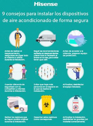 Los sistemas de climatización serán claves para hacer frente al coronavirus durante el verano