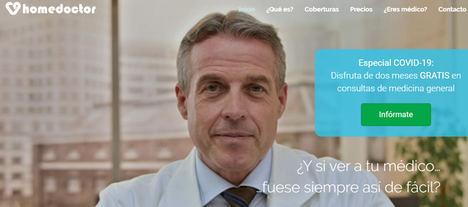 Homedoctor pone en marcha una iniciativa solidaria ofreciendo 2 meses gratis de videoconsulta médica a todos sus usuarios