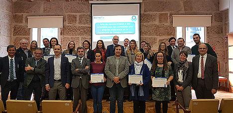 Ibermutua Gallega reconoce a más de 280 empresas de Pontevedra por su labor para prevenir y reducir la siniestralidad laboral