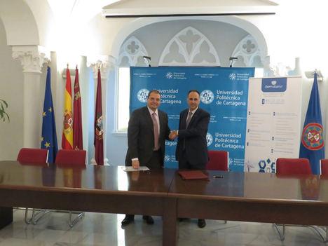 Ibermutuamur acogerá en prácticas académicas a estudiantes de la Universidad Politécnica de Cartagena