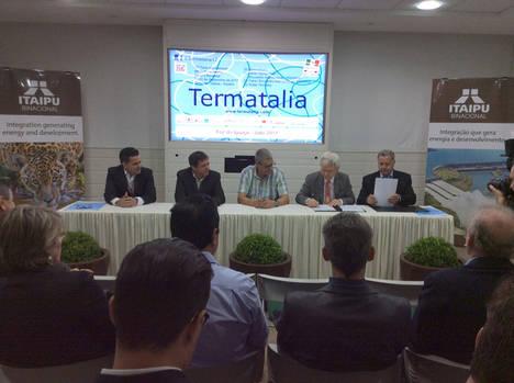 Firmado el convenio para celebrar Termatalia Brasil 2018