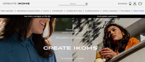 IKOHS es ahora CREATE IKOHS y se afianza como creador de tendencias en el sector del electrodoméstico de alta gama