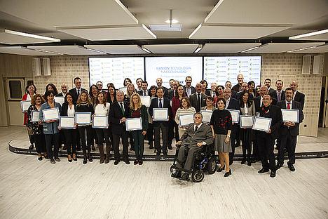 ILUNION Tecnología y Accesibilidad reconoce el compromiso demás de 30 instituciones y empresas con la accesibilidad