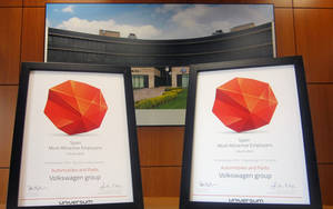 Premios Universum al Grupo Volkswagen
