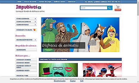 La tienda de disfraces online Impulsivos.es incrementará su cifra de facturación un 47%