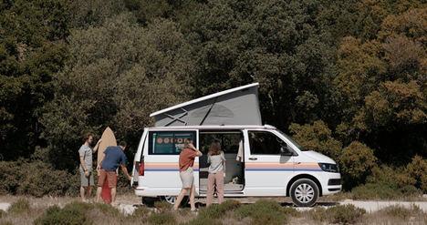 Demanda interna de vacaciones en autocaravanas crece un 130% en Junio