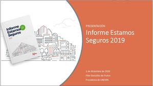 Presentación del Informe Estamos Seguros 2019 de Unespa