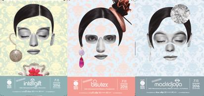 INTERGIFT, BISUTEX y MADRIDJOYA presentan en septiembre su nueva imagen y los pabellones al completo