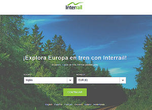 Interrail lanza una oferta por compra anticipada para este verano