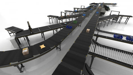 Interroll presenta el nuevo crossbelt sorter de alto rendimiento