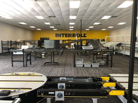 En Interroll Atlanta hay más espacio total disponible, y se han añadido instalaciones de exposición y de formación a la primera planta.