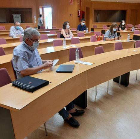 ASEBEC inicia el proyecto TRANSITEC con una reunión de trabajo en el ITC