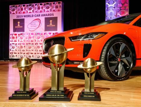 "Triplete del Jaguar I-Pace en los ""World Car Awards 2019"""