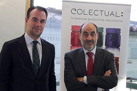 José María Ferrer, director de Colectual y Pedro Gómez, presidente de Colectual.