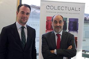 José María Ferrer, director general de Colectual y Pedro Gómez, presidente de Colectual.