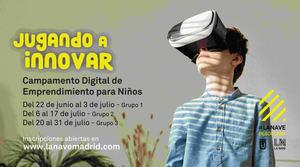 La Nave pone en marcha un campamento online para niños sobre emprendimiento