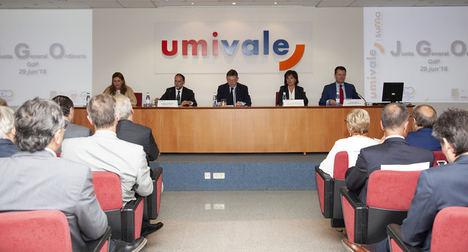 Umivale aporta a las arcas públicas de la Seguridad Social 32,5 millones de euros
