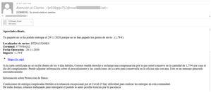 Kaspersky alerta de una nueva estafa de phishing que suplanta a Correos