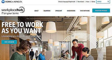 Workplace Hub de Konica Minolta simplifica el acceso a la tecnología para pequeñas y medianas empresas