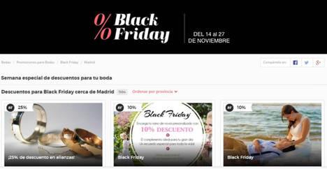 Cientos de empresas participarán en la segunda edición del Black Friday nupcial