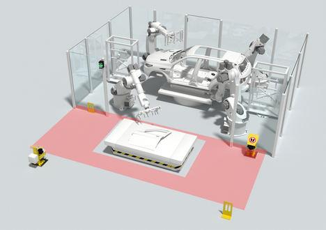 Leuze ES, flujo eficiente de materiales con total seguridad