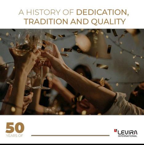 Levira International cumple 50 años como referente en el mobiliario de oficina