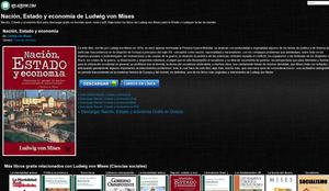 Como leer y descargar libros gratis de economía por Internet