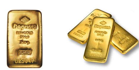 Los cinco distintivos básicos de un lingote de oro