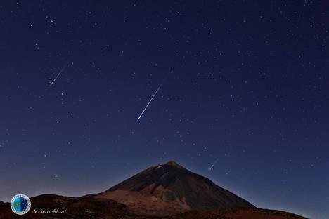 MOBOTIX participa en la observación y emisión de la lluvia de estrellas de las Perseidas